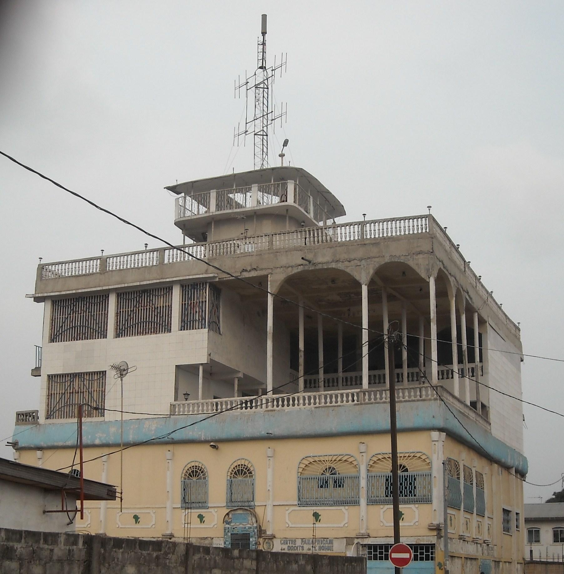 Le Centre Panafricain des Droits de l'Homme abrite le siège du réseau Forum Radio Télévision des Droits de l'Homme à Brazzaville (Violations des Droits de l'Homme en Afrique et dans le monde)