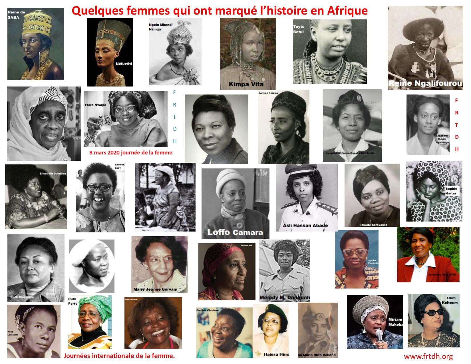 Quelques femmes pionnières africaines qui ont marqué l'histoire.  (Actualités)