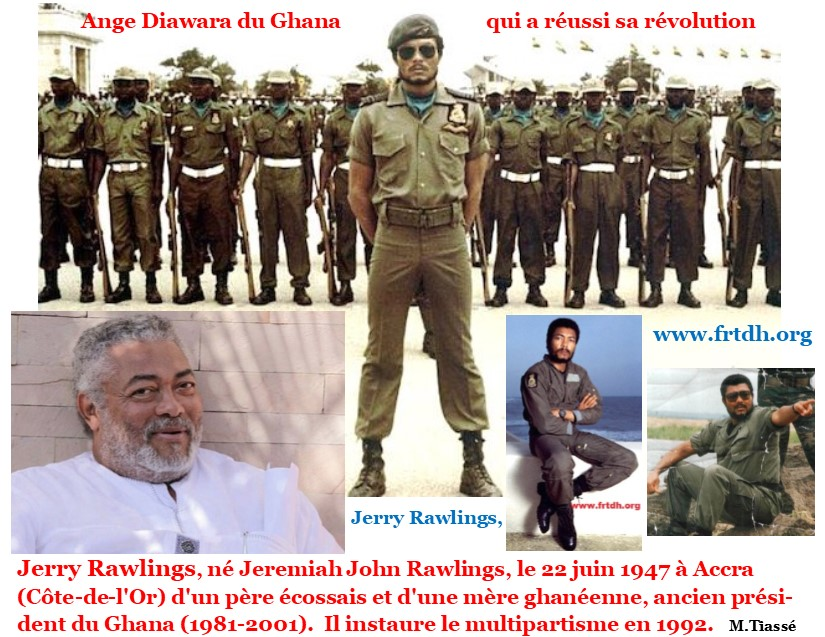 Jerry Rawlings, putschiste romantique et « dictateur » bien aimé (Droit à l'éducation et au développement culturel)