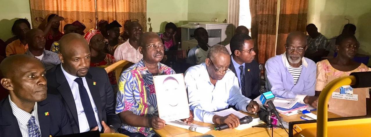Témoignage public des parents des disparus devant les organisations de la société civile congolaise le samedi 25 mars 2017 (Violations des Droits de l'Homme en Afrique et dans le monde)