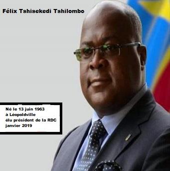 Félix Tshisekedi 55 ans rend hommage à Joseph Kasavubu, Patrice Emery Lumumba, Joseph Désiré Mobutu, Laurent Désiré Kabila et à son père Etienne Tshisékédi (Actualités)