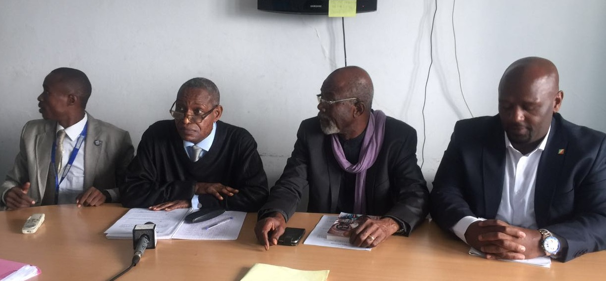 Brice Makosso - Louamba Moké - Dr Alex Diazabana Wa Ibaka - Joe Washington Ebina (Violations des Droits de l'Homme en Afrique et dans le monde)