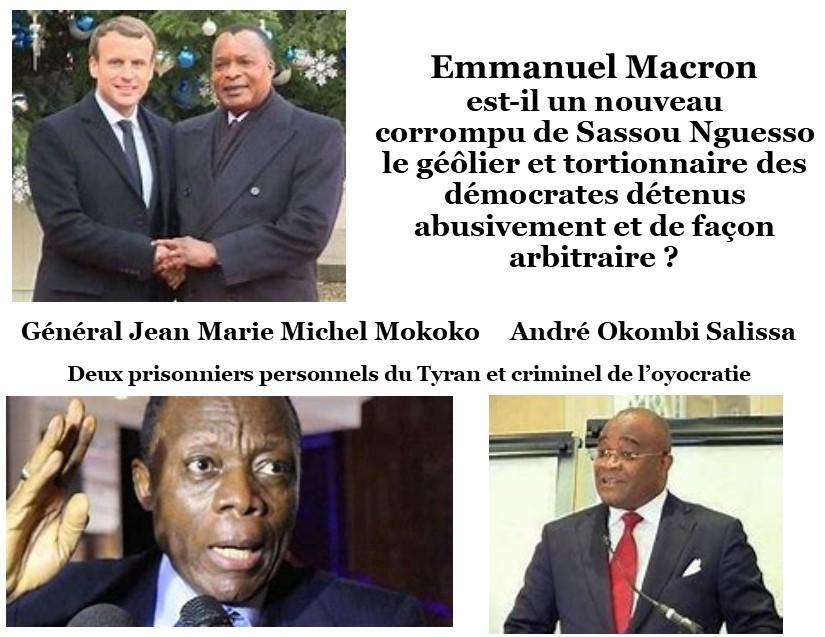 Grâce à Jean Yves Le Drian Macron devient un Macro de la politique des corrompus (Violations des Droits de l'Homme en Afrique et dans le monde)