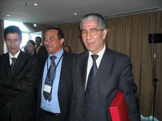 M. Herzeni (Maroc), Président du réseau africain des institutions nationales des Droits de l'Homme (Nouvelles des ONG, INDH, organisations régionales et onusiennes)