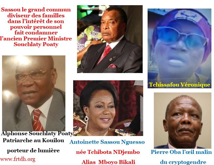 Sassou Nguesso le grand commun diviseur des familles congolaises (Violations des Droits de l'Homme en Afrique et dans le monde)