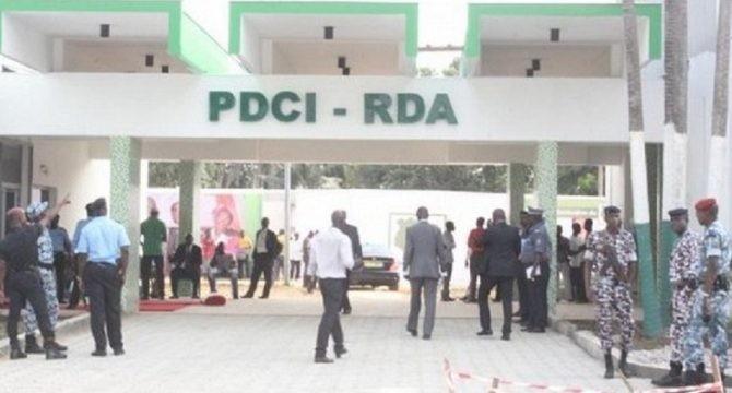 Siège du Parti démocratique de Côte d'Ivoire (PDCI) à Abidjan-Cocody  (Violations des Droits de l'Homme en Afrique et dans le monde)