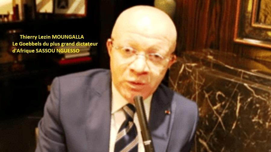 Porte parole du plus grand criminel d'Afrique Sassou Nguesso (Actualités)